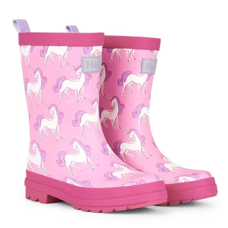 Matte Rain Boots Sizes 4-13 - Unicorn Doodles