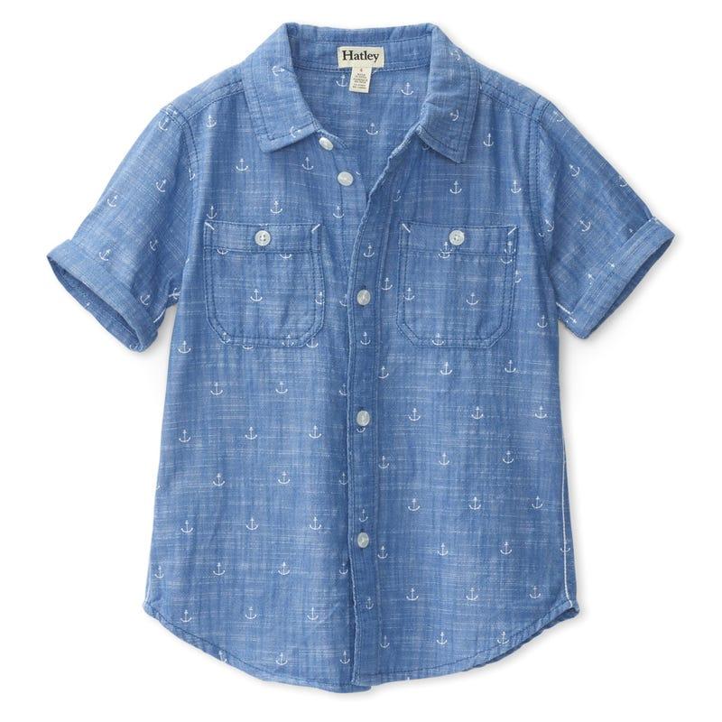 Nautical Chambray Shirt 2-8