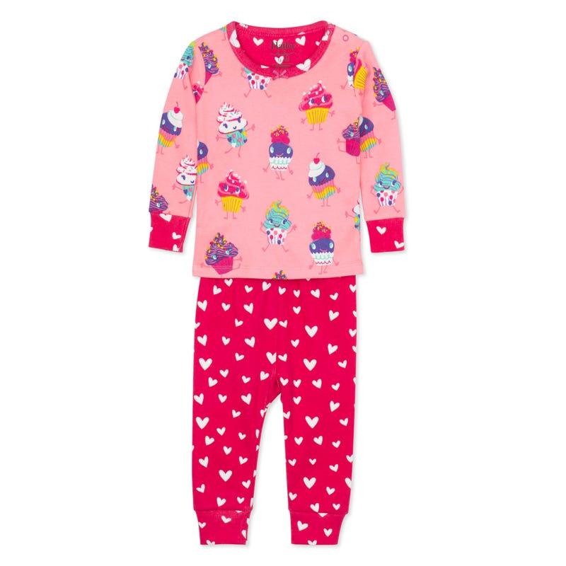 Cupcakes Pajamas 3-24m