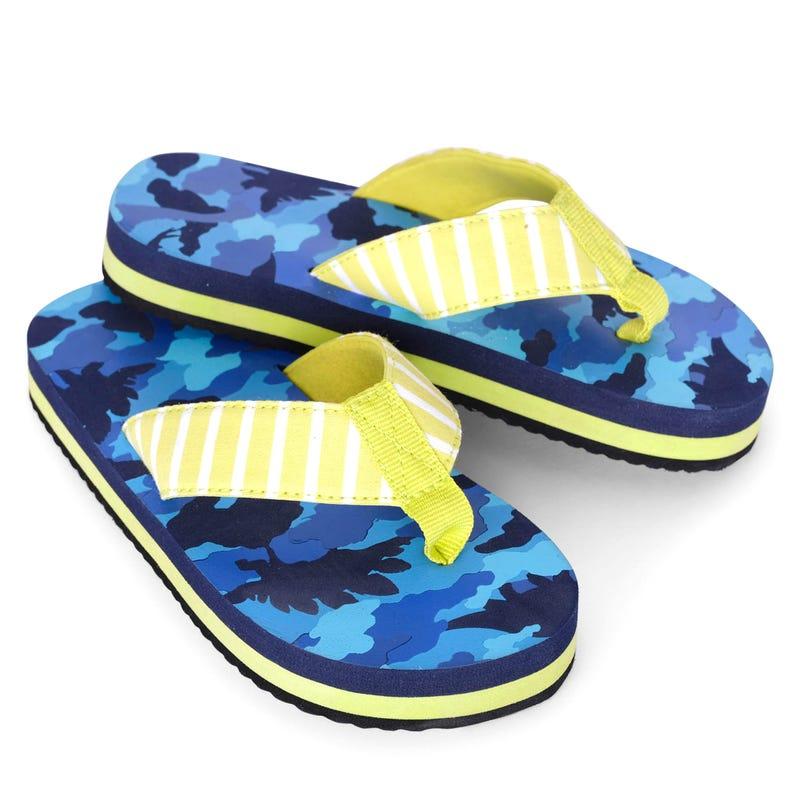 Dino Flip Flops Size 7-13