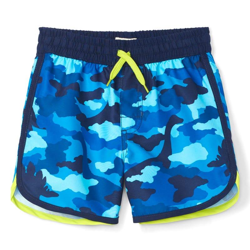 Dino Camo Swim Shorts 2-6