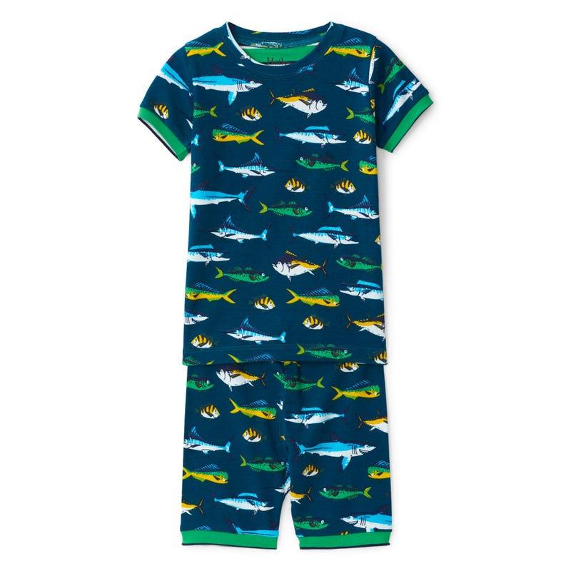 Pyjama Court Poisson 2-10