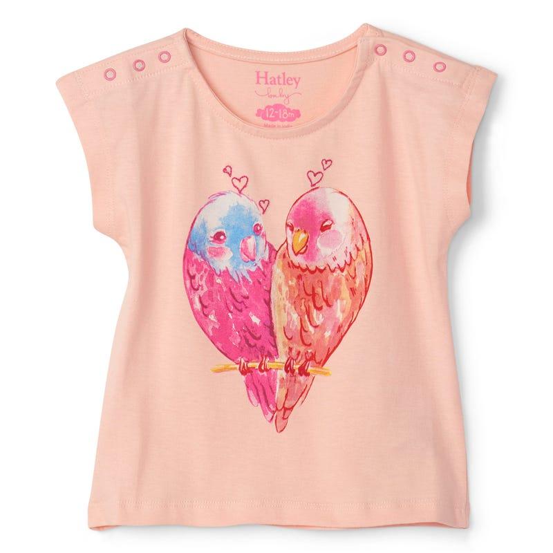 T-Shirt Oiseaux 3-24m