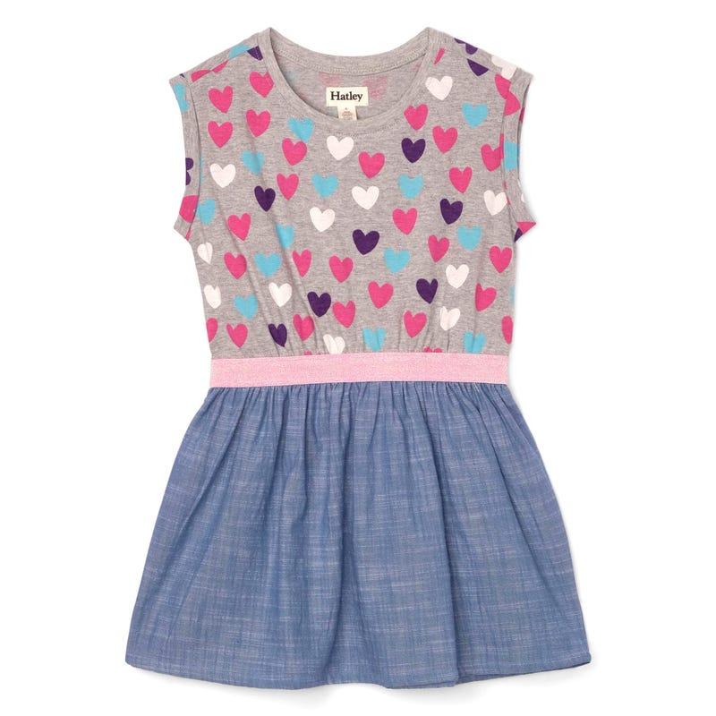 Hearts Dress 3-8