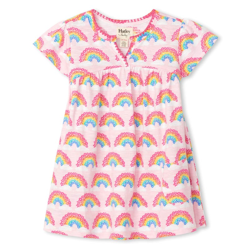 Unicorn Rainbow Dress 3-24m
