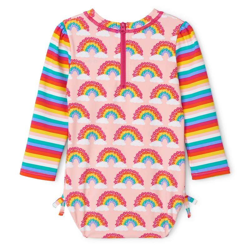 Rainbow Rashguard Swimsuit 324