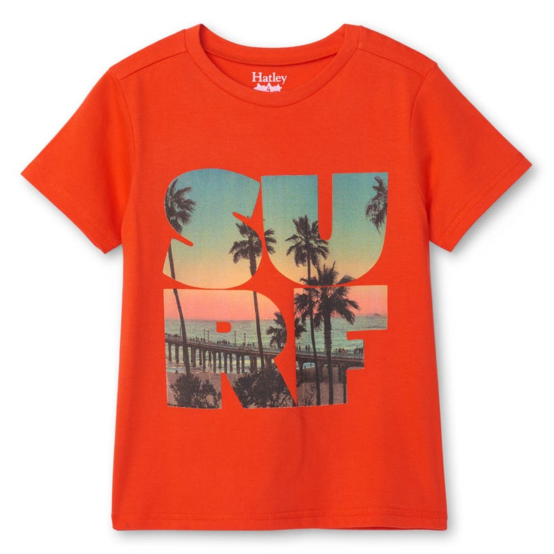 T-Shirt Surf Tropiques 2-8ans