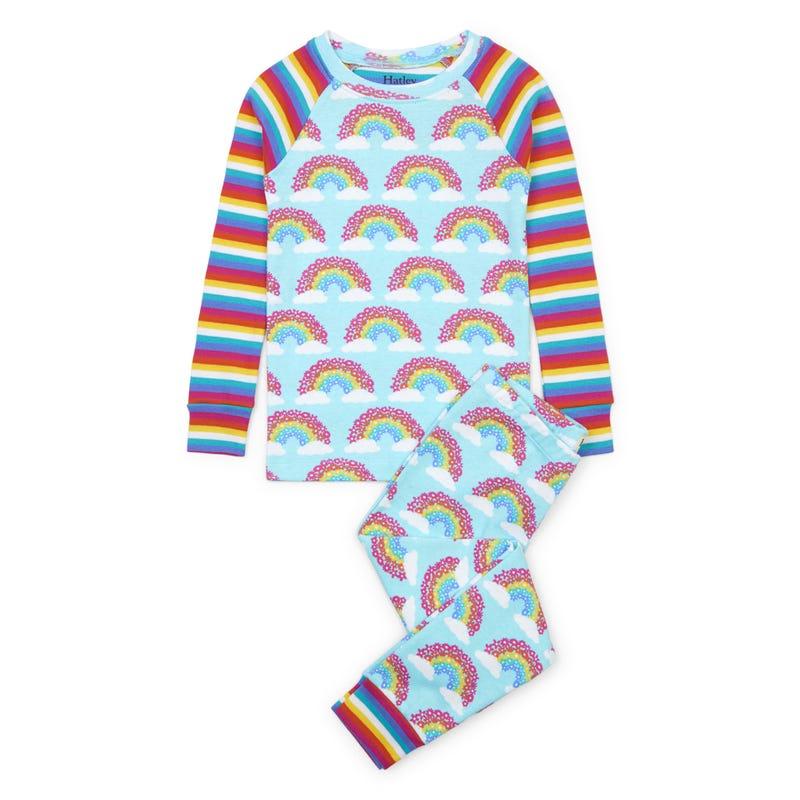 Rainbow Pajamas 3-8