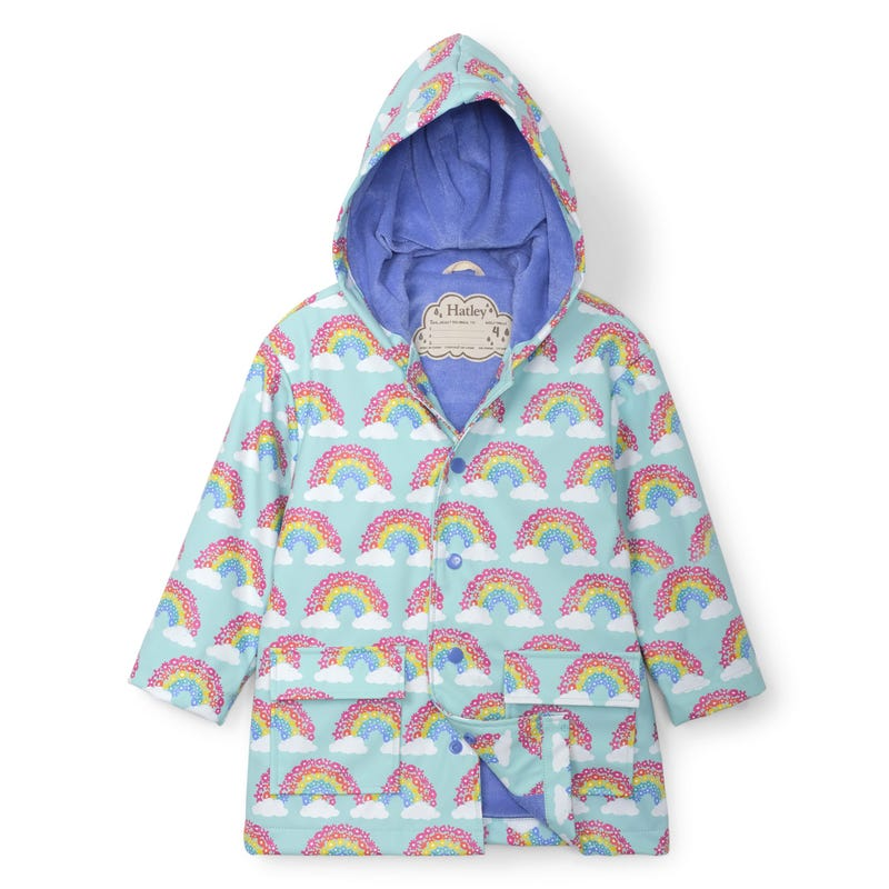 Rainbow Raincoat 2-8