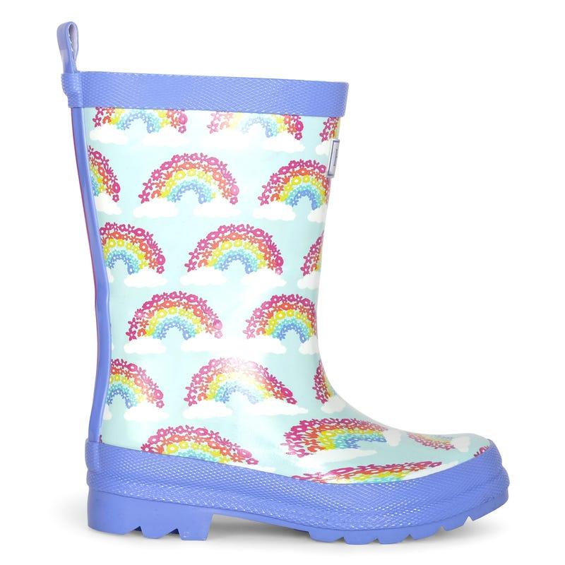 Rainbow Rain Boots 4-13