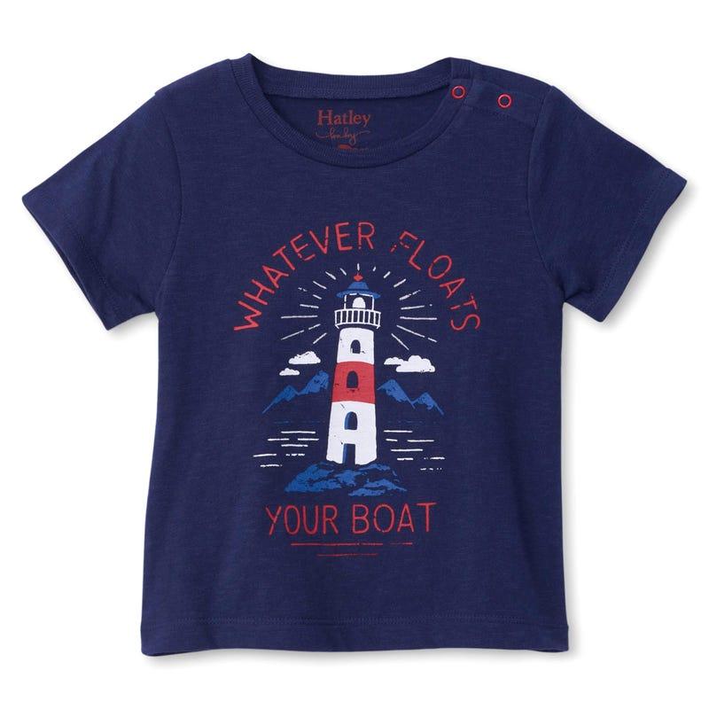 Boats Lighthouse T-Shirt 3-24m
