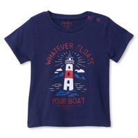Boats Lighthouse T-Shirt 3-24m
