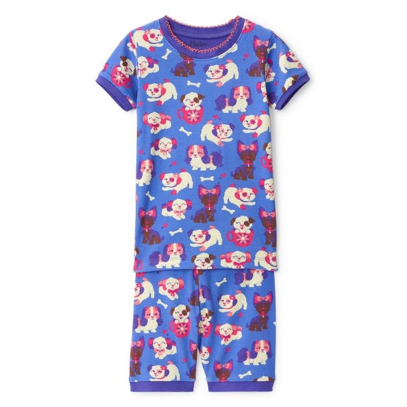 Pyjama Court Chiot 3-8
