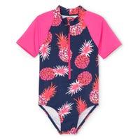 Pineapple UV Rashguard Swimsuit