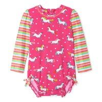 Unicorn UV Rashguard Swimsuit