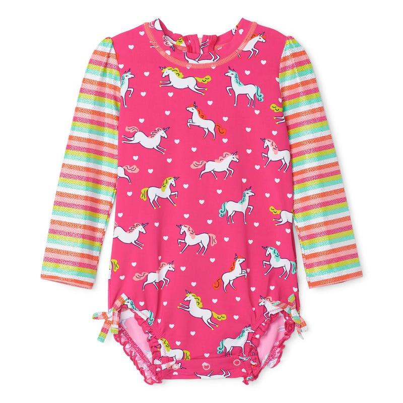 Unicorn Rashguard Swimsuit