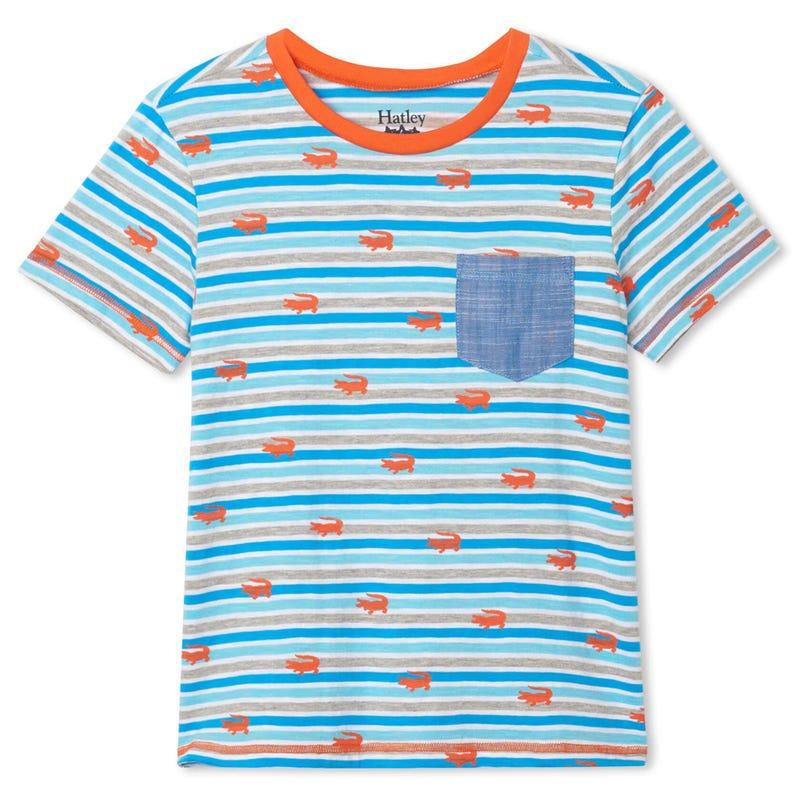 Aquatic Striped T-shirt 2-8y