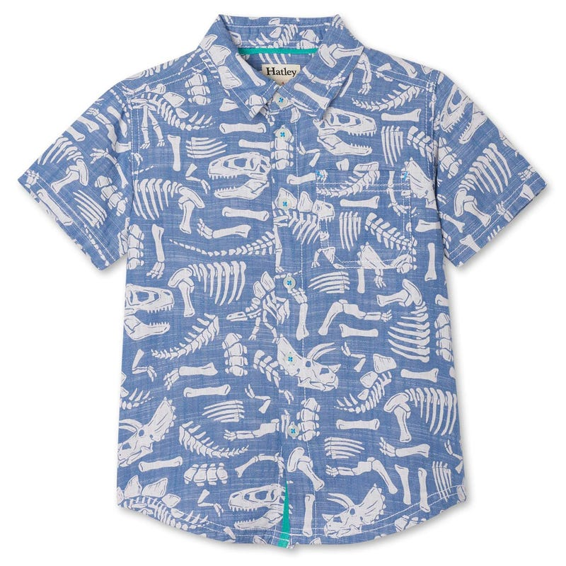 Chemise Manches Courtes Dino 2-8ans