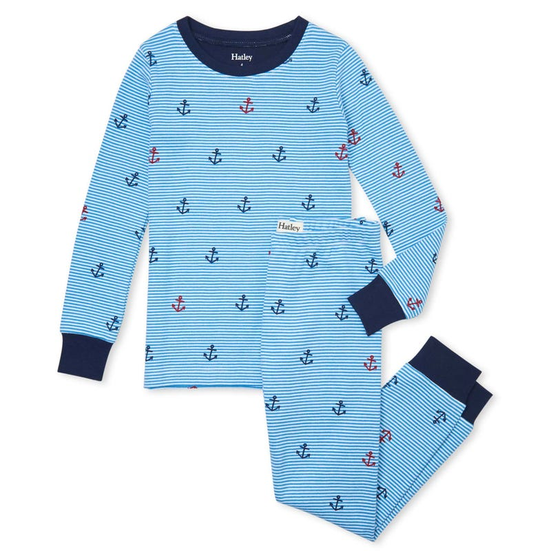 Anchors Pajamas 3-10y