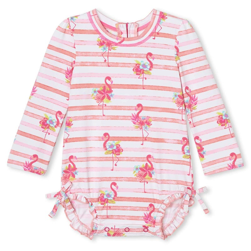Flamingos UV Rashguard 3-24m