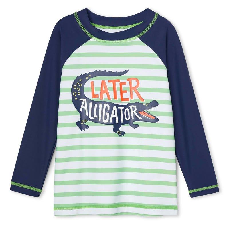 T-shirt Maillot UV Croco 2-6ans