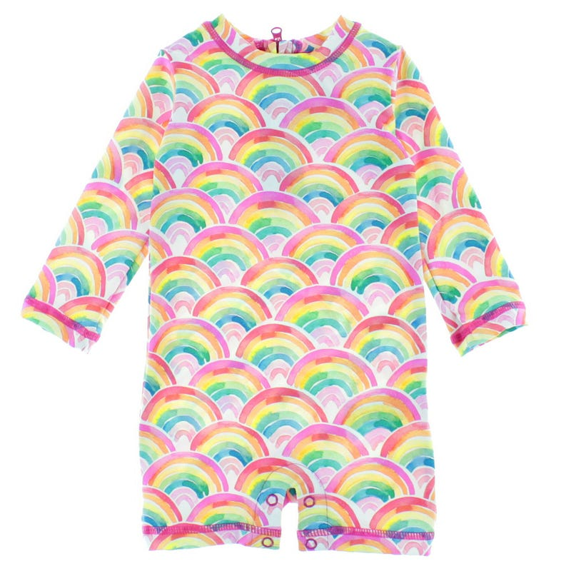 Rainbow UV Rashguard Swimsuit