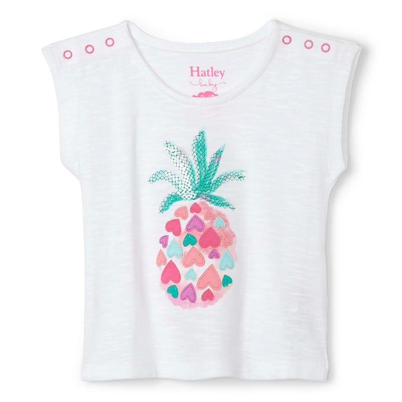 T-shirt Ananas Plage 3-24mois