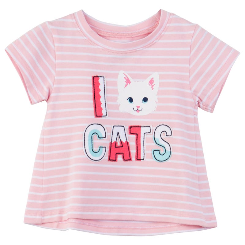 Cats Birds T-Shirt 3-24m