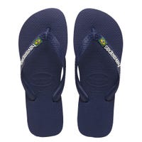 Brazil Logo Navy Blue Sandals Size 23-24