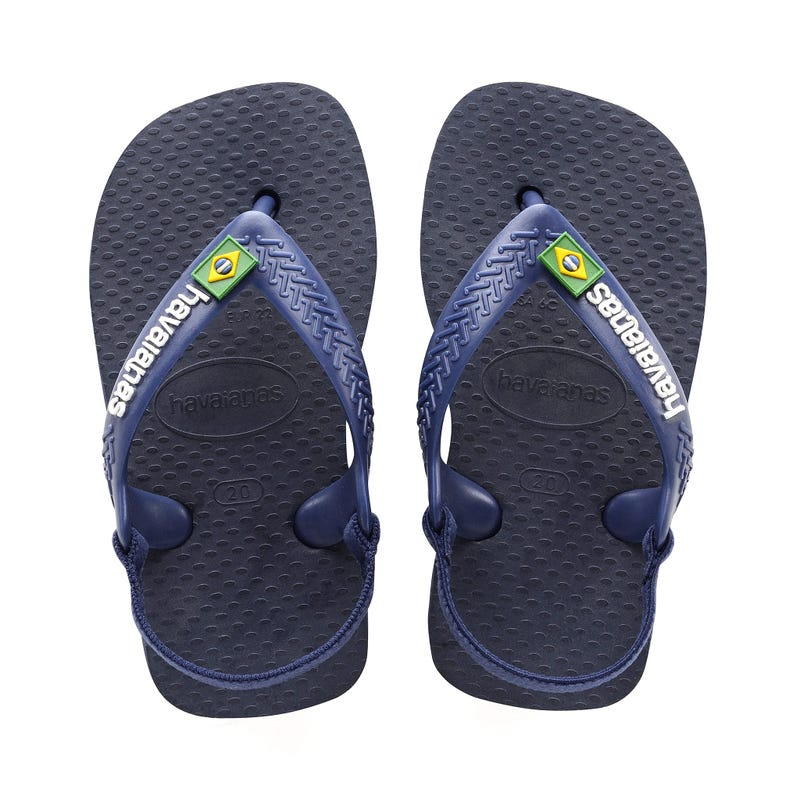 Baby Brazil Logo Sandals Size 17-24
