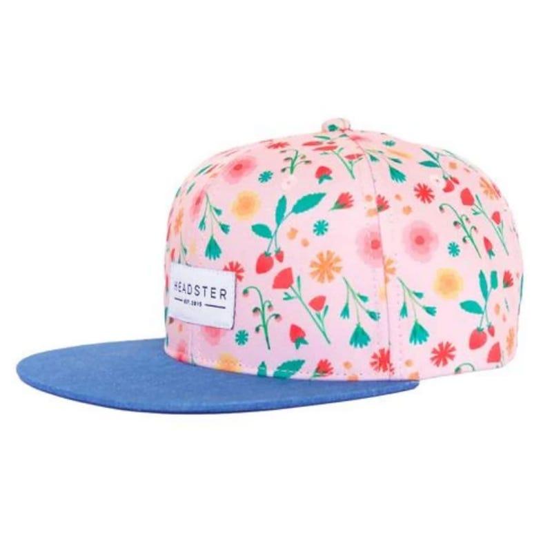 Pink Garden UV Cap 6-24m