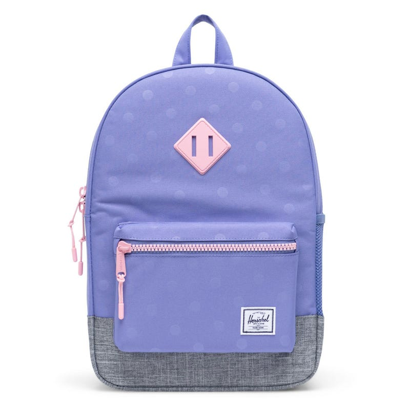 Heritage Youth Backpack 16L - Purple Dots