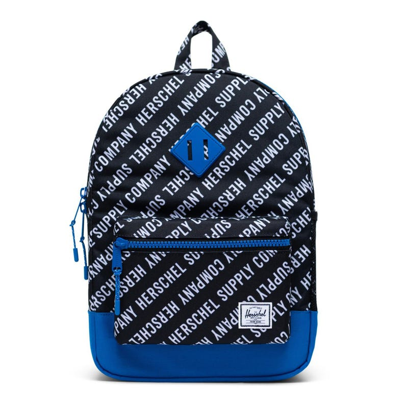 Heritage Youth 16L Backpack -Black/Blue