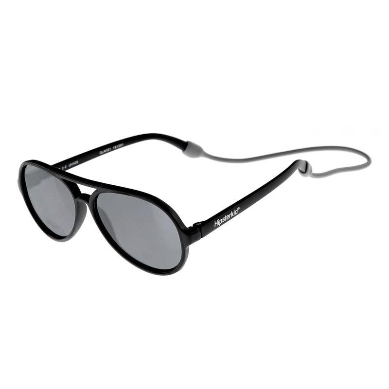 Aviator Sunglasses 3-6y - Black
