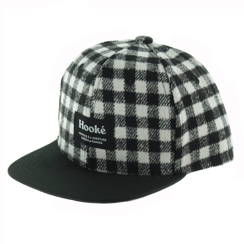 Hooke Grey Plaid Cap 2-8