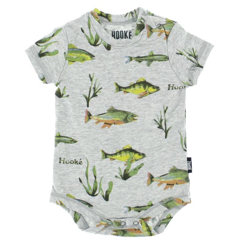 Hooké Fish Bodysuit 3-24m