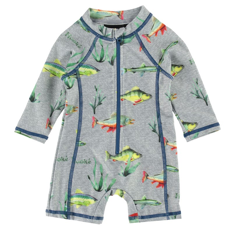 Hooké Fish UV Swimsuit 3-24m