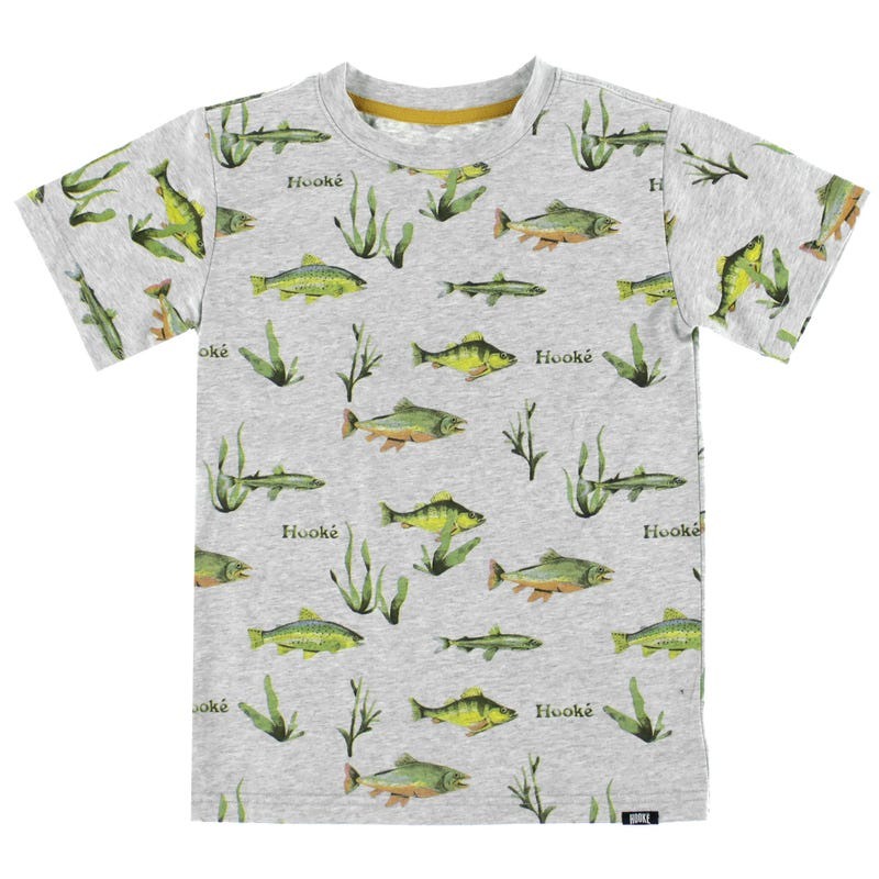 Hooké Printed Fishes T-Shirt 2-12y