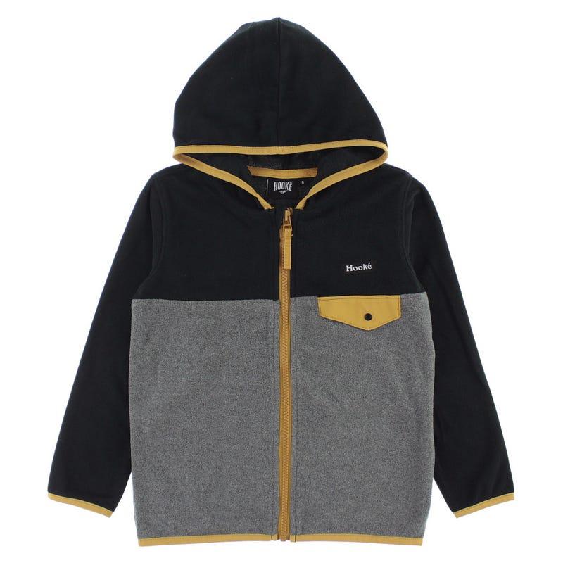 Hooke Fleece Hooded Vest 2-14