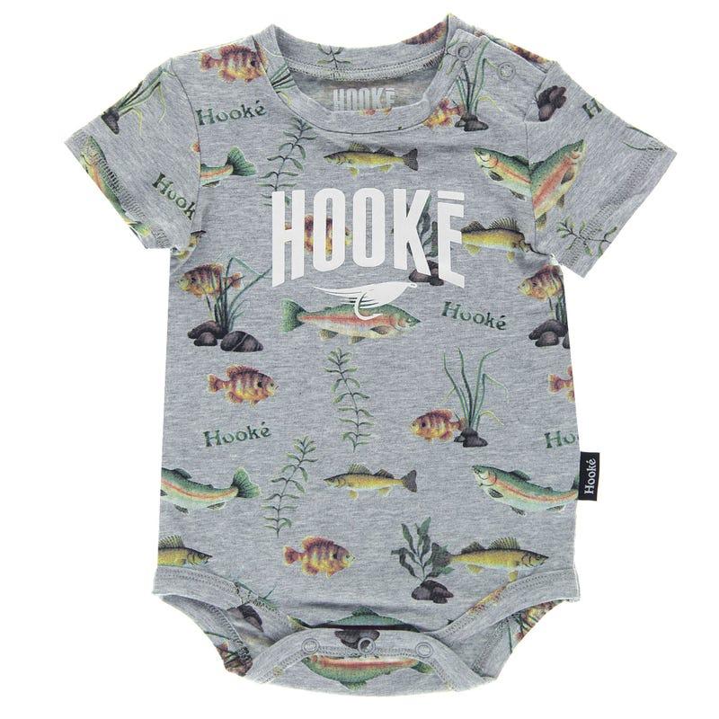Fish Printed 1 Piece T-Shirt 3-24m