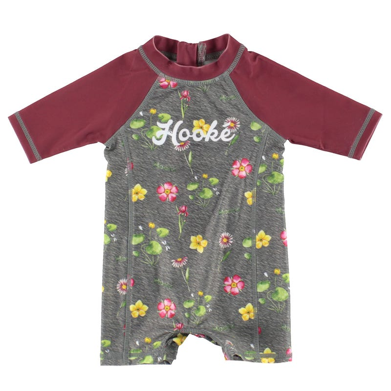 Hooké Flowers UV Swimsuit 3-24m