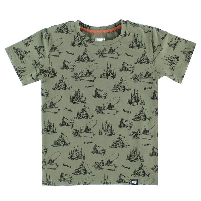 Hooke Camping T-Shirt 2-12y