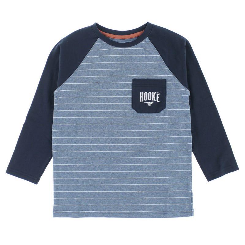 Raglan Striped T-Shirt 2-12y