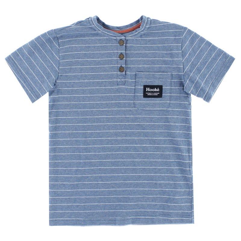 Hooke Striped Henley T-Shirt