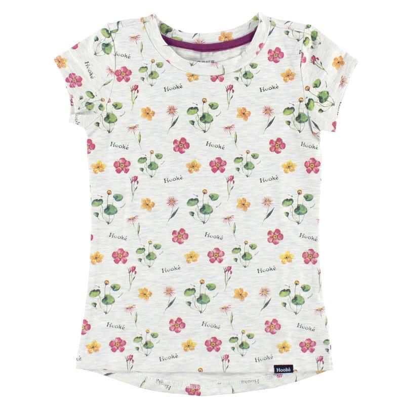 Hooke Flowers T-Shirt 2-12y