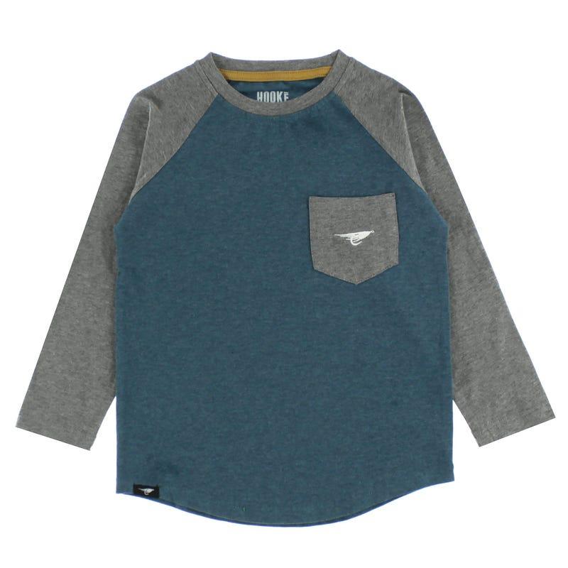 Hooké Long Sleeve Camping Raglan T-Shirt 2-8y