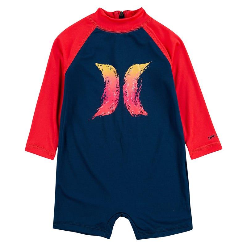 Logo UV Swimsuit 12-24m