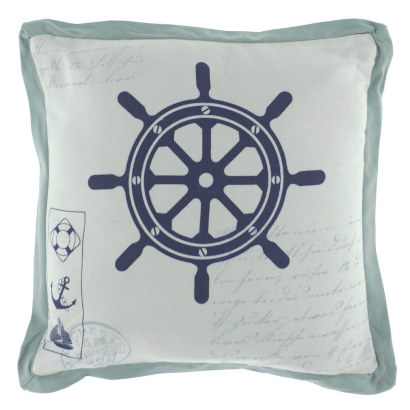 Ships Wheel Cushion