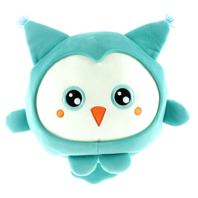 Owl Plush - Blue