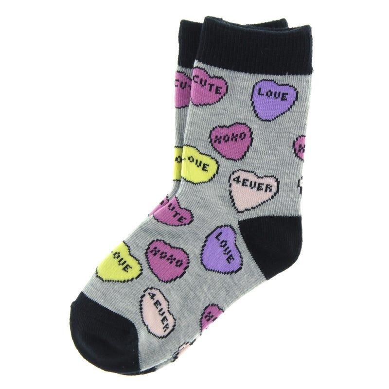 Hearts Socks 9-24m